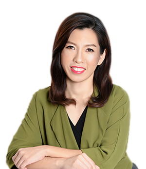 Singapore-based online therapist, Desieree Makalew, from Talk Your Heart Out