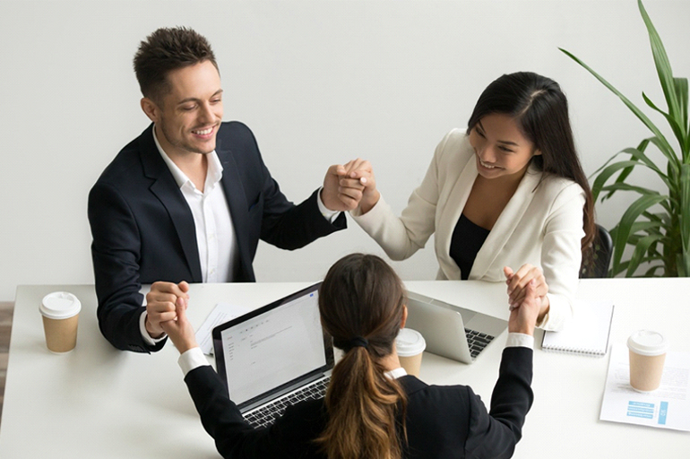 Don't be afraid to approach others for help in the workplace.